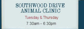Southwood Drive                 Animal Clinic Website